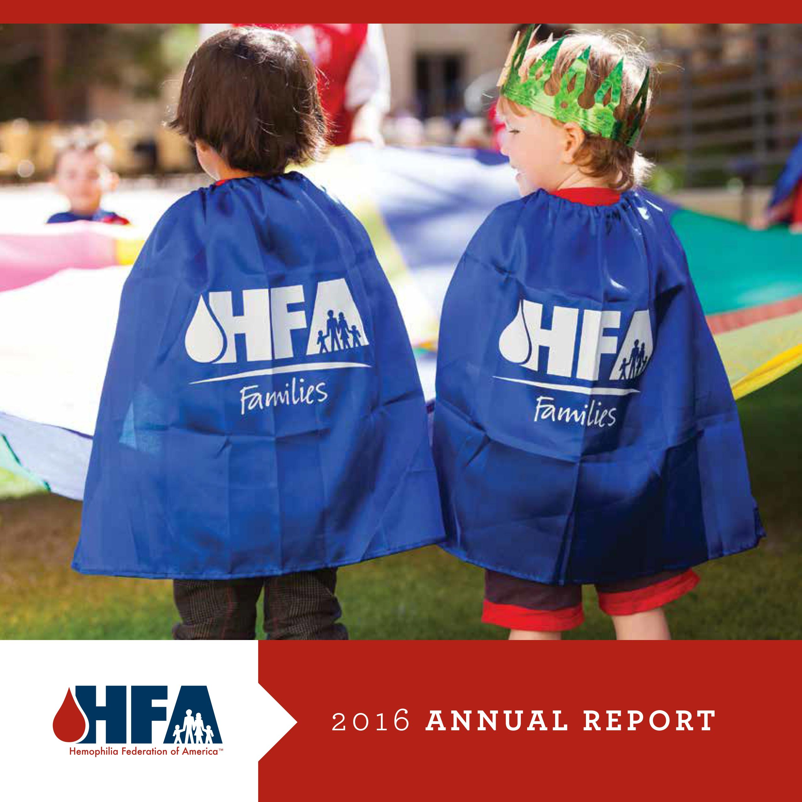 HFA Annual Report 2016
