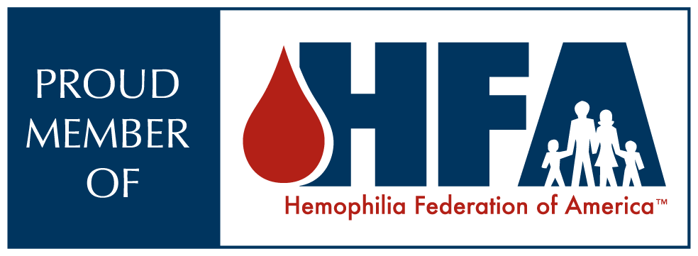 Proud Member of Hemophilia Federation of America HFA