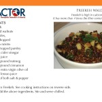Freekeh salad recipe