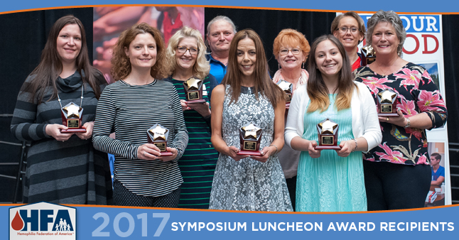 Our 2017 Award Luncheon winners at Symposium in Providence, Rhode Island.