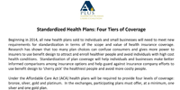 Marketplace Levels of Coverage APLUS brief