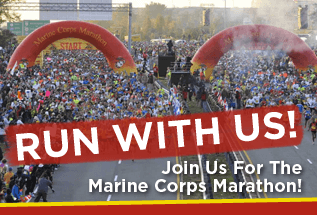 Run The Marine Corps Marathon for HFA