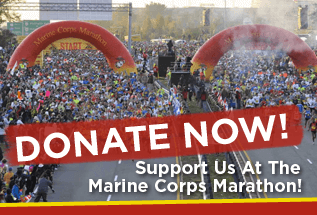 Donate To The Marine Corps Marathon for HFA