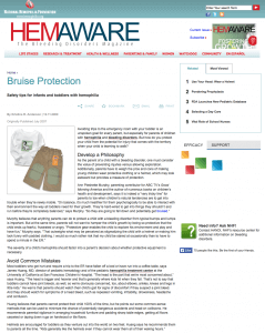 Hemaware_Bruise Protection_image