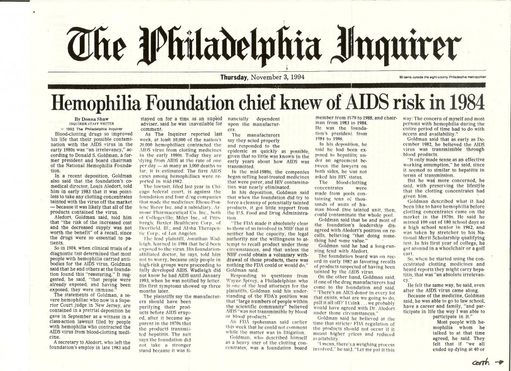 1990's_NHF Chief knew of AIDS