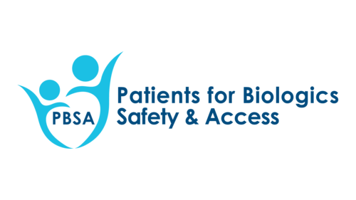 Patients for Biologics Safety and Access PBSA Logo
