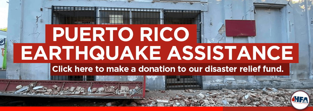 Click here to make a donation to our disaster relief fund.