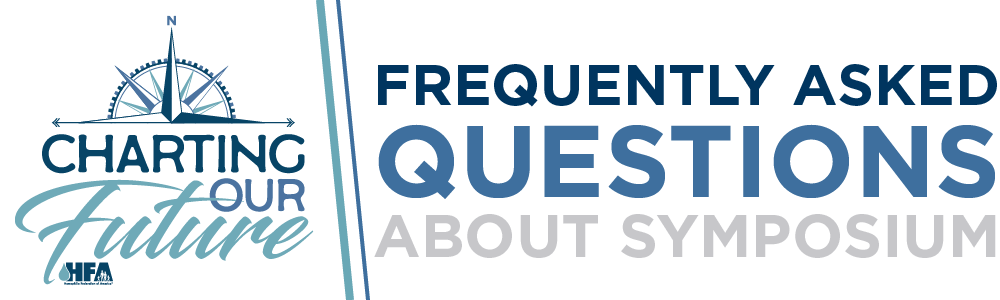HFA Symposium Frequently Asked Questions