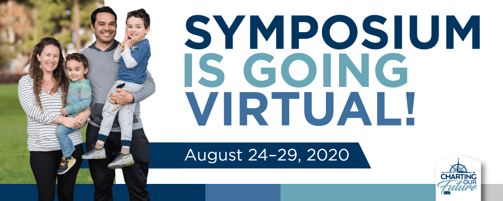 Symposium is going virtual!