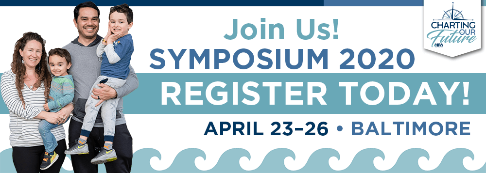 Join us for Symposium in Baltimore, April 23–26, 2020!