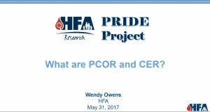 Research 101: What are PCOR & CER Webinar