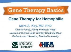 Gene Therapy Webinar_hemophilia