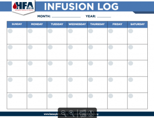 Monthly Infusion Log_Image