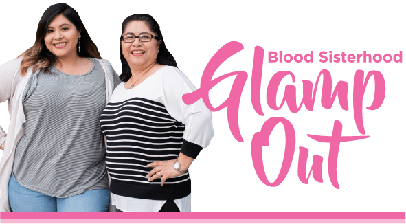 Blood Sisterhood Glamp Out