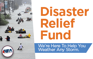 When disaster strikes, we're here to help.