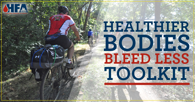 healthier bodies bleed less toolkit