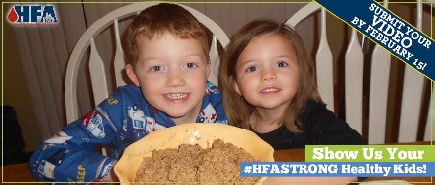 #HFAStrong Healthy Kids