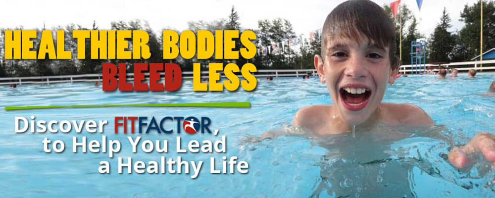 Healthier Bodies Bleed Less Discover FitFactor to help lead a healthy life