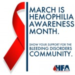 Hemophilia Awareness Month Graphic