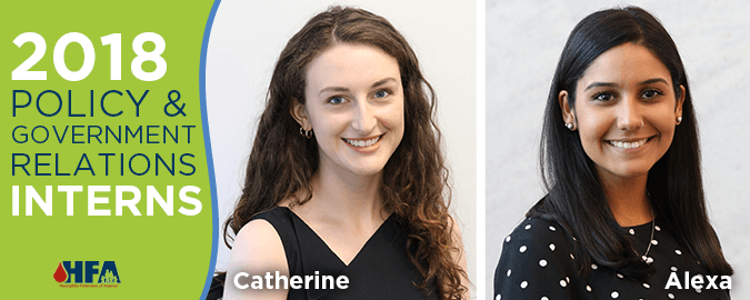 Meet HFA's 2018 Interns - Catherine and Alexa