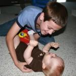 Noah and Evann