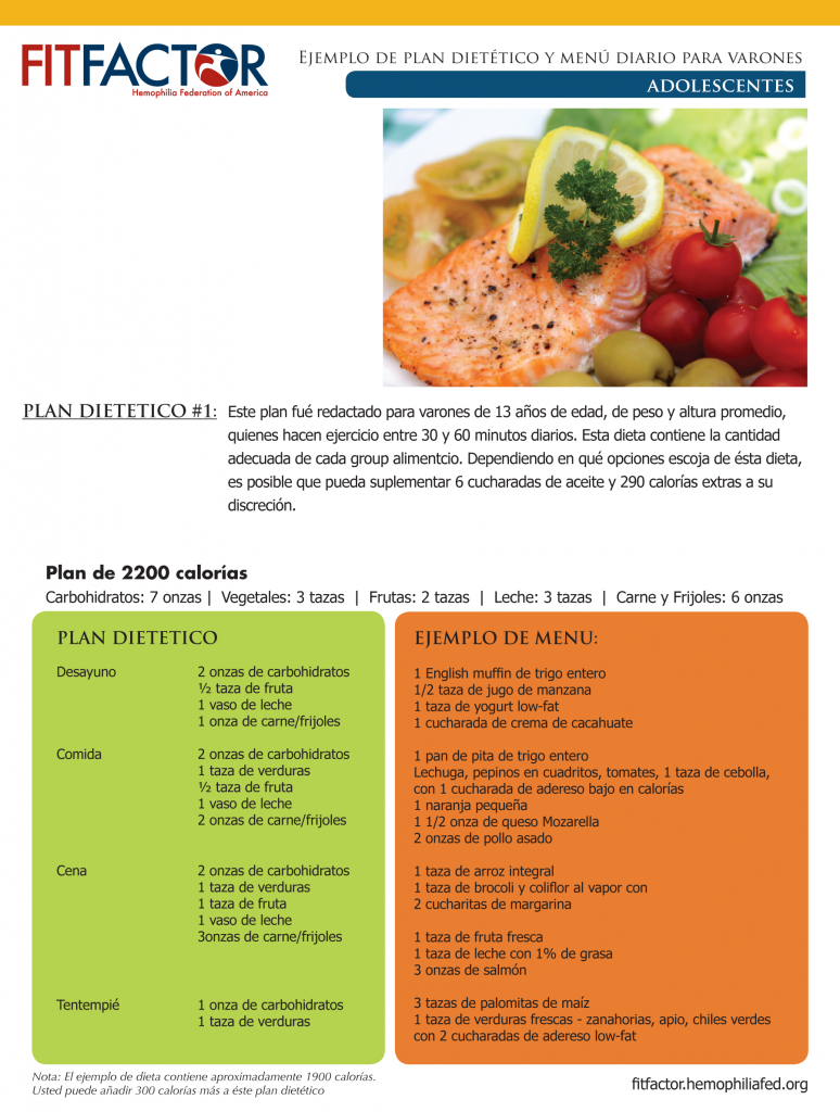 recipe cards adol1 spanish