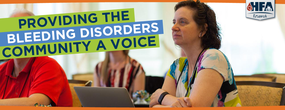 Providing the Bleeding Disorders Community With A Voice