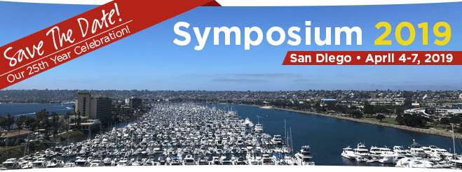 Symposium 2019 in San Diego, California!