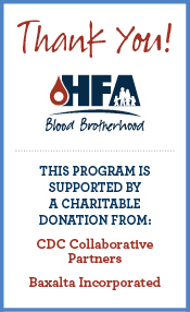 Thank You for supporting Blood Brotherhood