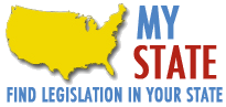 My state Find Legislation in my state